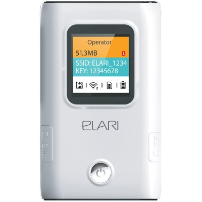 Router 4G eSIM - file server portabil Elari SmartWiFi