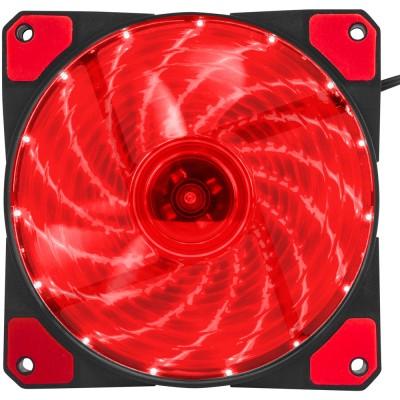 Ventilator 120 mm Genesis Hydrion 120 red LED