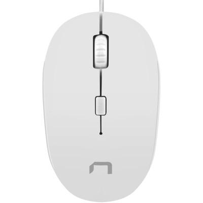 Mouse Natec Sparrow white