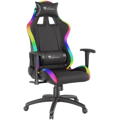 Scaun pentru gaming Genesis Trit 500 RGB black