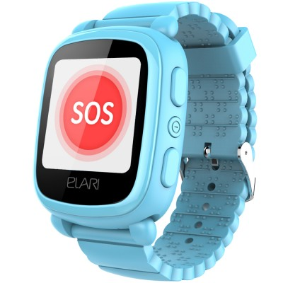 Smartwatch Elari KidPhone 2 , GPS, Blue