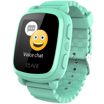 Smartwatch Elari KidPhone 2, GPS, Green