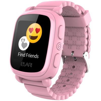 Smartwatch Elari KidPhone 2, GPS, Pink