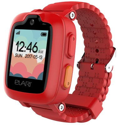 Smartwatch Elari KidPhone 3G, GPS, WiFi, Red