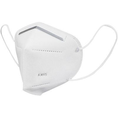Masca de protectie de unica folosinta KN95 cu 4 straturi, certificare CE,  Alb