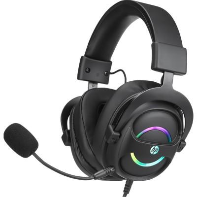 Casti HP DHE-8006, 7.1 Virtual, USB, negru