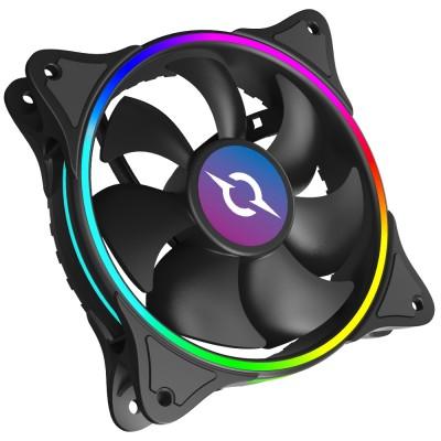 Ventilator 120 mm AQIRYS Cetus 6P-12SL16-RGB, 1200 rpm, 6-pin