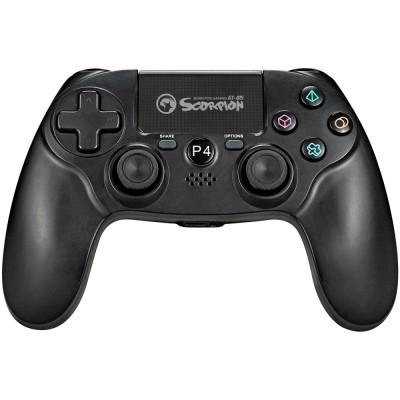 Gamepad Marvo GT-015 (PS4, PC), 3D-Sensor, G-Sensor, USB, negru