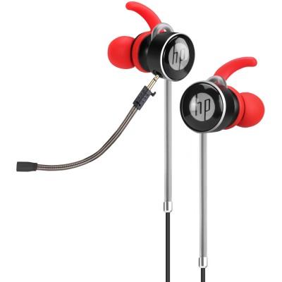 Casti HP DHE-7004, in-ear, Jack 3.5mm, rosu