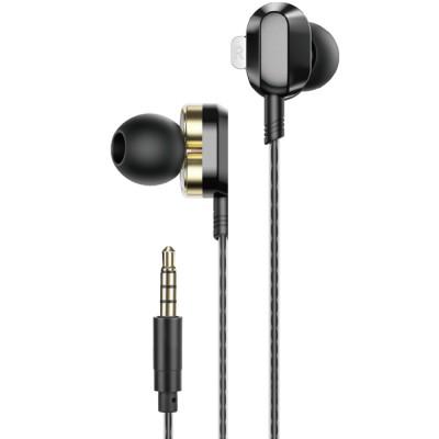 Casti in-ear HP DHE-7003, in-ear, Jack 3.5mm, negru