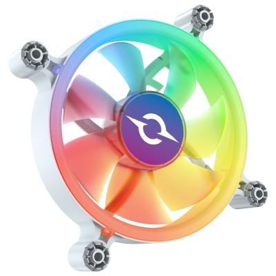 Ventilator 120 mm AQIRYS Cetus 6P-12SLI15W-RGB, 1200 rpm, 6-pin