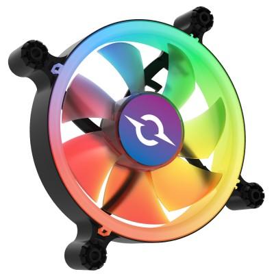 Ventilator 120 mm AQIRYS Cetus 6P-12SLI15B-RGB, 1200 rpm, 6-pin