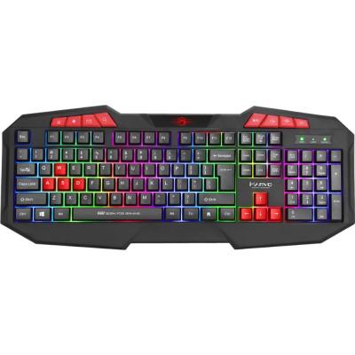 Tastatura Marvo K602, iluminare Rainbow, USB, negru