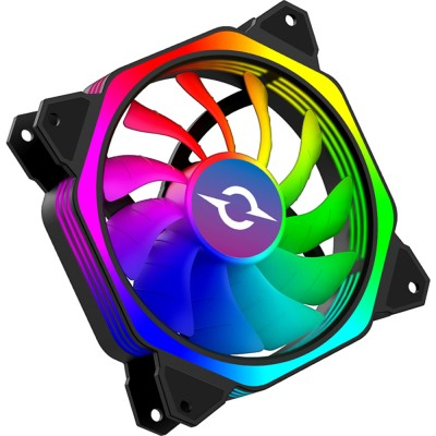 Ventilator 120 mm AQIRYS Cetus 6P-12SLI24-RGB, 1500 rpm, 6-pin