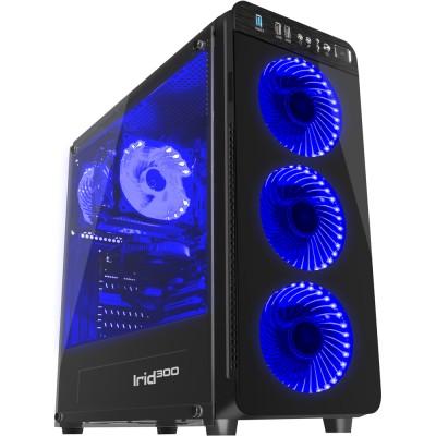 Carcasa gaming Genesis Irid 300 Blue