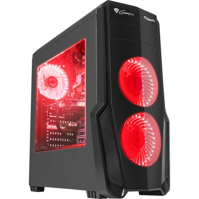 Carcasa gaming Genesis Titan 800 Red