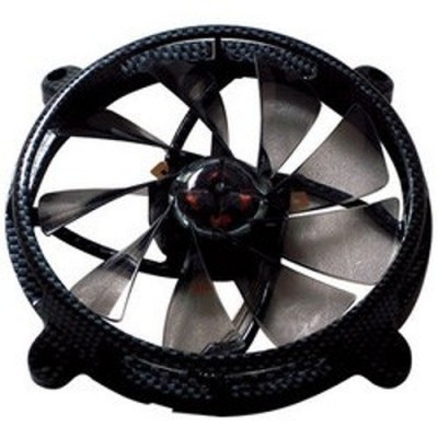 Ventilator Aerocool RS12 CARBON FIBER EDITION BLACK 120 mm, 1000 rpm, 29.7 CFM