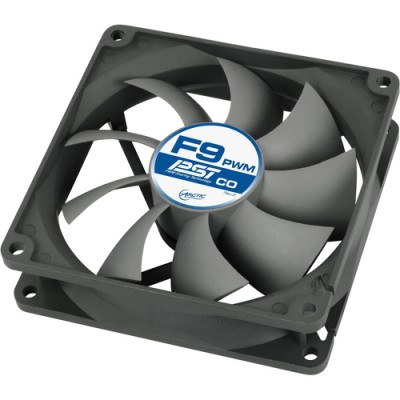 Ventilator Arctic F9 PWM PST CO PWM, 92 mm, 43.00 CFM