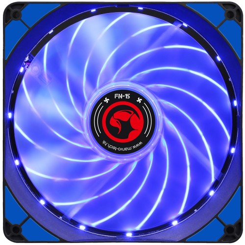 Ventilator 140 mm Marvo FN-15 blue