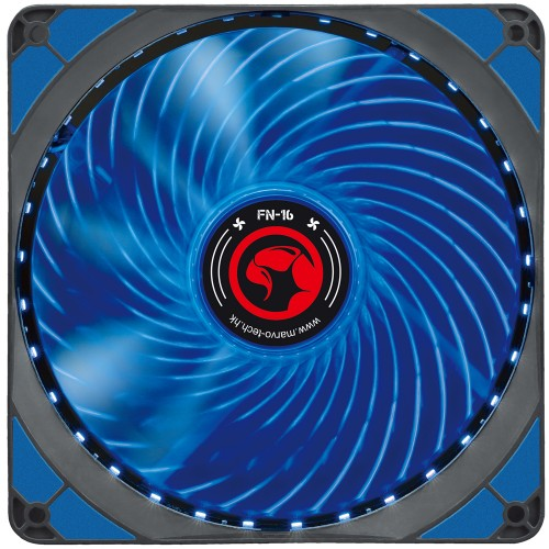 VENTILATOR 140 MM MARVO FN-16 BLUE