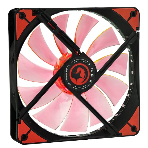 Ventilator 140 mm Marvo FN-16 red