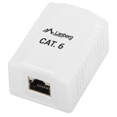 FTP data box Lanberg 1 port Cat6 (OS6-0001-W)