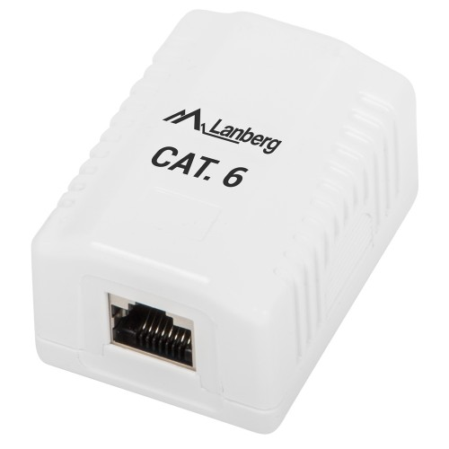 FTP data box Lanberg 1 port Cat6 (OS6-0001-W)