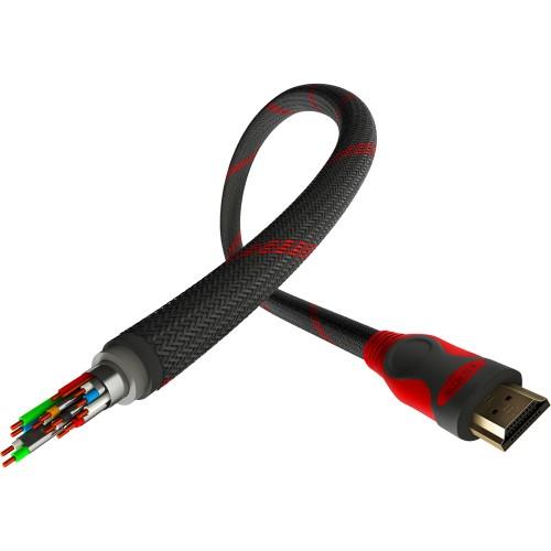 Cablu premium Genesis HDMI high-speed v2.0, 4K, 3 metri (XONE, X360)