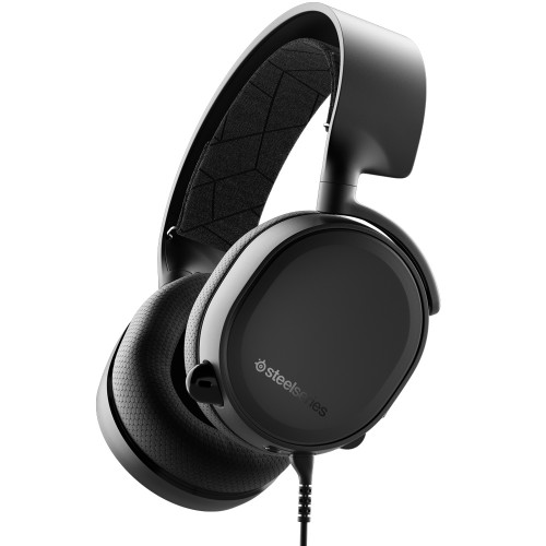 Casti SteelSeries Arctis 3 2019 Edition black
