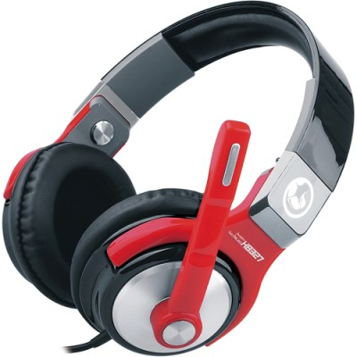 Casti Marvo H8327 RED Stereo, 3.5 mm Jack