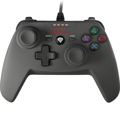 Gamepad Genesis P58 (PC, PS3) USB, PC, Playstation 3, Negru