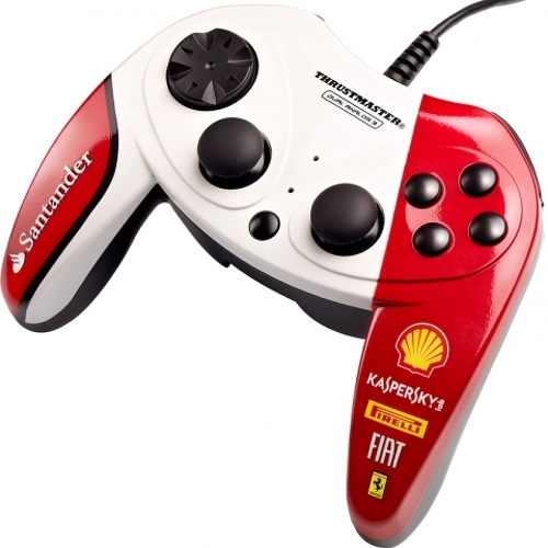 Gamepad Thrustmaster - DUAL ANALOG FERRARI 150TH ITALIA EXCLUSIVE EDITION (PC) - 2960733