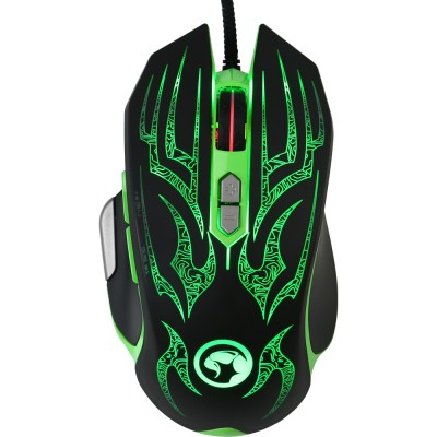Mouse Gaming Marvo G920 Green 4000 dpi