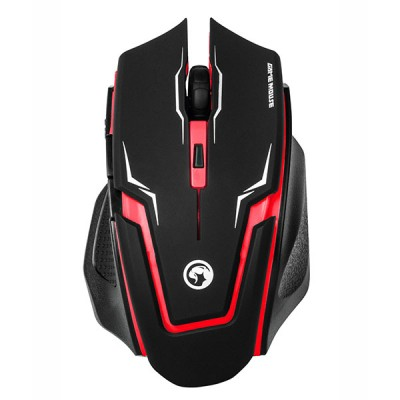 Mouse Optic - Marvo - M319 RED - USB, 2400 dpi, 6 Butoane