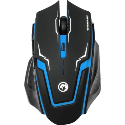 Mouse Marvo M319 BLUE 2400 dpi, Optic, 6 Butoane, USB