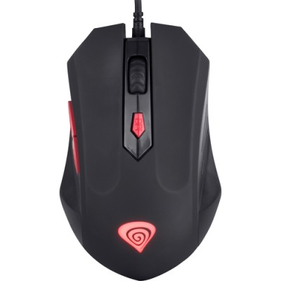 Mouse Optic - Natec Genesis - G66 SILENT - USB, 2000 dpi, 6 Butoane