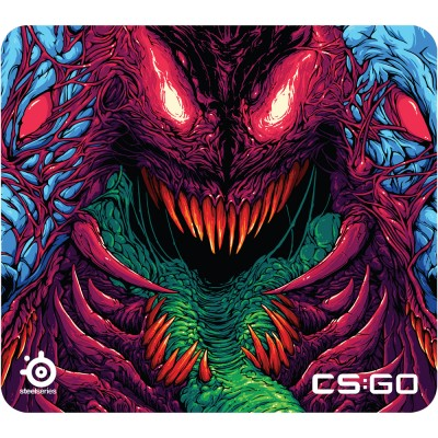 Mousepad SteelSeries QcK+ CS:GO Hyper Beast Edition