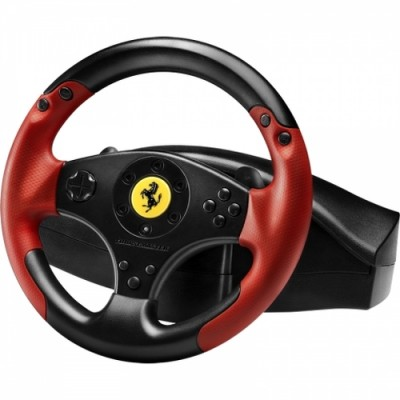 Volan Thrustmaster FERRARI RACING WHEEL RED LEGEND EDITION (PC, PS3) - 4060052 USB, PC, PlayStation 3, Negru/Rosu